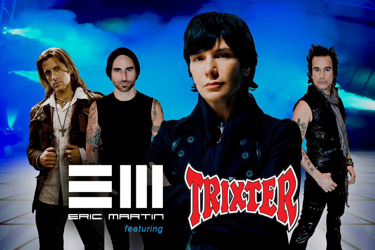 Eric Martin feat. Trixter - Rockfest 80's get your tickets now!