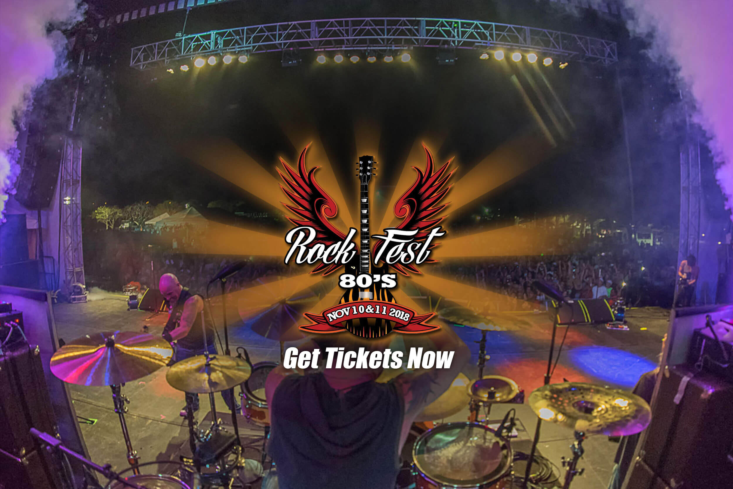 Rockfest 80's get your tickets now!