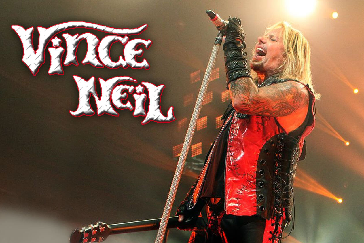 Vince Neil - Rockfest 80's get your tickets now!